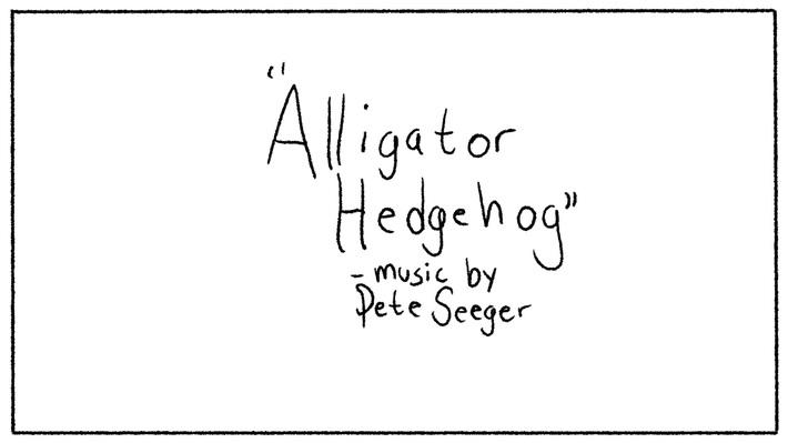 Alligator Hedgehog