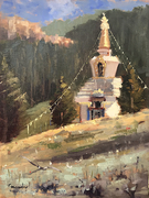 Stupa in the Rockies