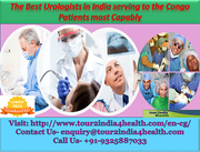 The Best Urologists in India serving to the Congo Patients most Capably