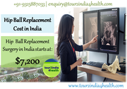 Hip ball replacement cost in India