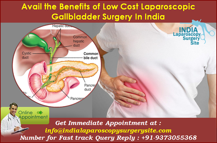Avail the benefits of Low Cost Laparoscopic Gallbladder Surgery In India