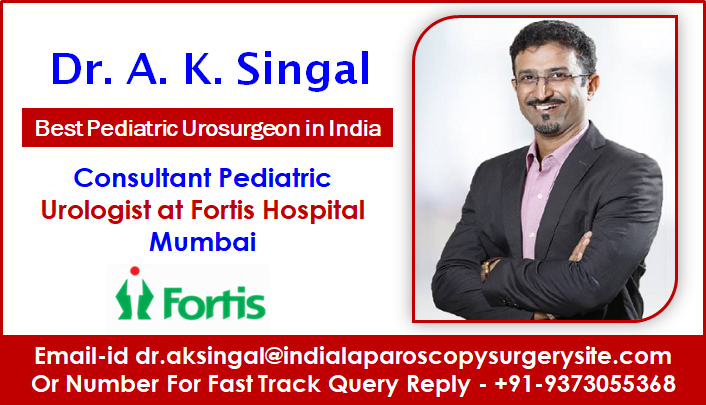 Dr A.K. Singal Provides Exceptionally Sensitive, Kid-Focused Urologic Treatment in India