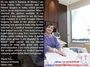 Fibroid Surgery in India for a global patient was not less than a heaven thing for her life