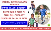 Medical Tourists Drawn Towards Affordable Stem Cell Therapy Cost for Cerebral Palsy In India