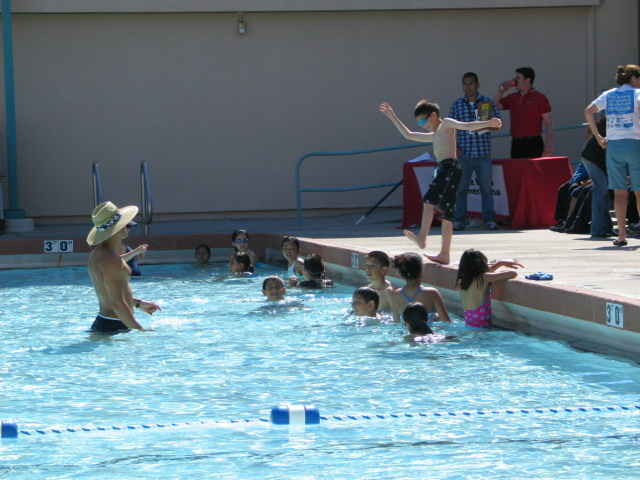 Water safety lessons Parkway Family Aquatic Center, Chula Vista