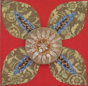 'Sunflower' from Garden Party Mandala series