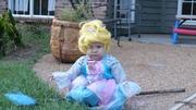 Elise as Cinderella