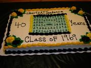40th Reunion Cake