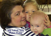 Maw-maw, Kaitlyn & Cole