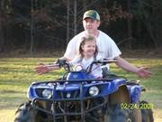 Daddy, Jonathon letting Kaitlyn drive!