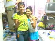 Con mi sobrina