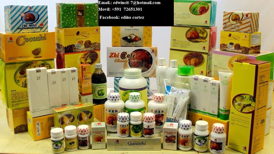 productos dxn