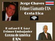 Felicidades Mr Jorge Chaves-- 1er Diamante de Costa-Rica y Mr Rafael Diaz--- 1er Embajodor-Corona de America.