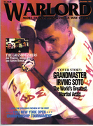 SOKE GRANDMASTER IRVING SOTO 8-TIMES WORLD KUMITE CHAMPION 10TH DEGREE BLACK BELT WITH THE COVER RED