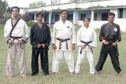 Tiger Nasim Khan,With Sr.Karateka