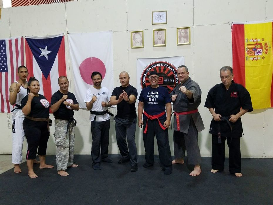 INTERNATIONAL GOJU SINGH KAI KARATE DO ASSOCIATION Br.Puerto Rico ,US.