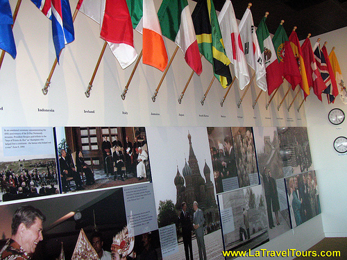 End of Cold War Exhibit at the Reagan Museum