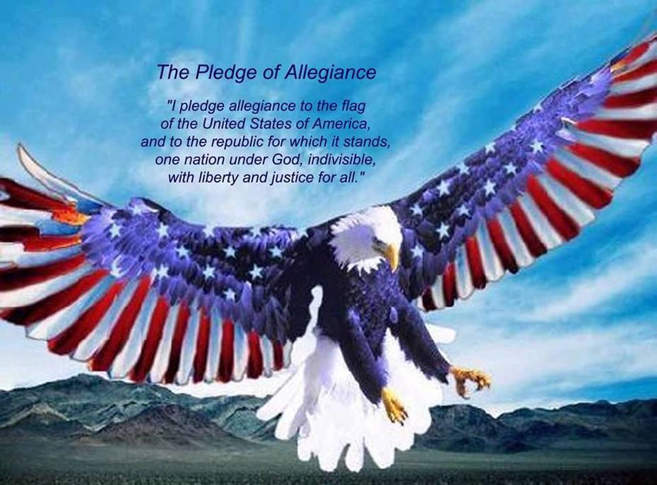 Pledge Allegiance to the USA Flag!!