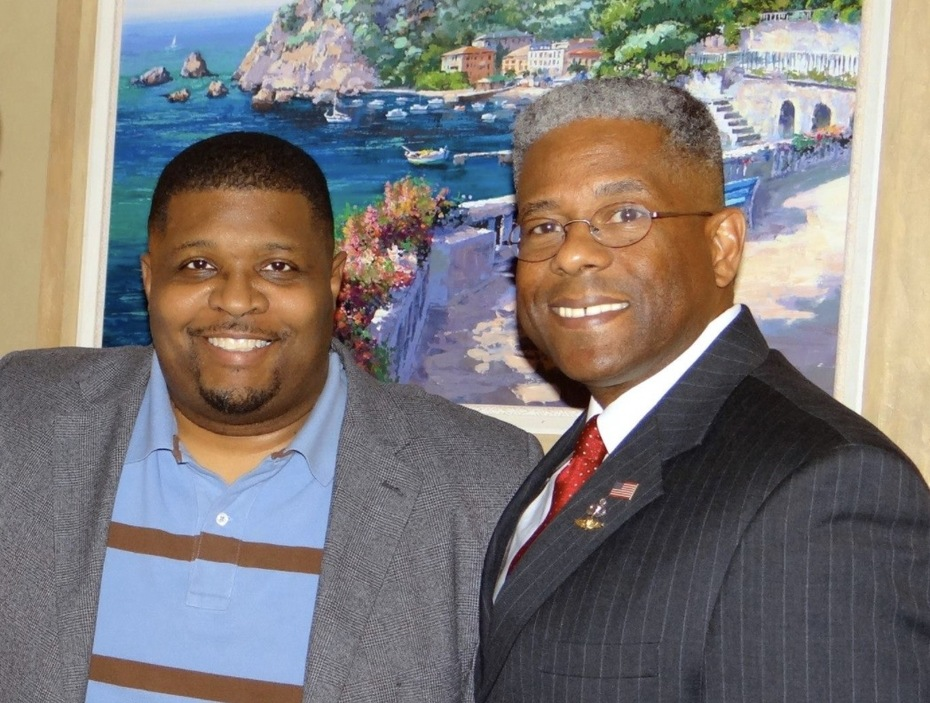 With Tea Party Favorite Col Allen West