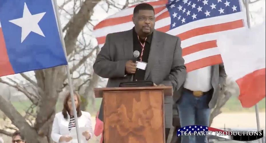 Spoke at Tea Party Rally in San Antonio, TX