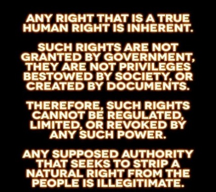 INHERENT RIGHTS