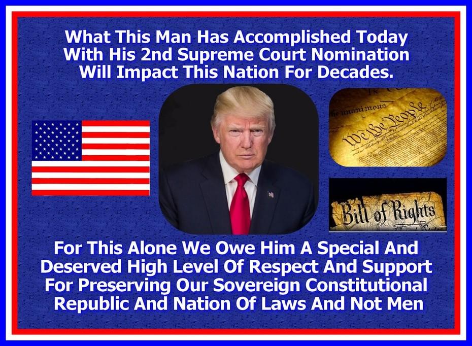 Trump Kavanaugh Win