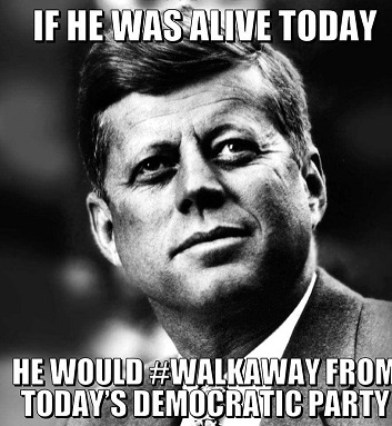 JFK WOULD #WALKAWAY