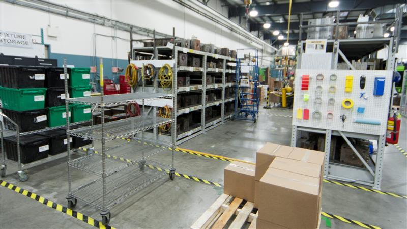 Production: Mould Storage 1