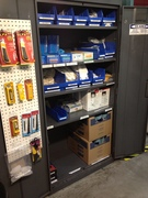 Production supply cabinet