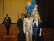 Pam (background), Gina, Me, and Amy - we graduated from my church's Ministerial Licensing Program on New Year's Eve night 2010