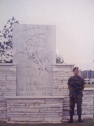 Airborne Pic 2 - Honoring all Paratroopers memorial in FT. Benning, GA