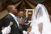 Conducting a wedding