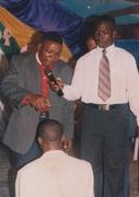 Papa Ordaining A pastor