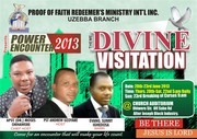 A revival meeting in one of my branches.