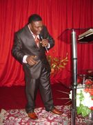 Preaching under intense Anointing