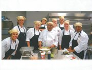 Chef School Gang Students at UT Culinary & Catering Program is at UT Conferences & Non-Credit Programs in 2012.