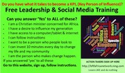 Leadership & Social Media Training
