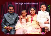 Rev. Raja Wilson and Family
