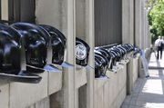 Cascos Negros ante el Ministerio de Economía