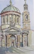 Church in Bergamo, Italy