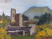 Silver Mines, Gortahork, co Donegal oil on panel