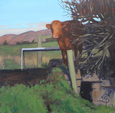 cattle on the bridge