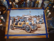 Sample Painting for Indianaoplis motor speed way Museum 001
