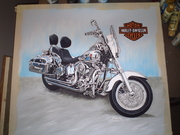 Just Finished Harley Davidson MC   Owner Mike Akee 002