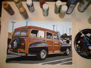 Just finished   Chrysler Woody 002