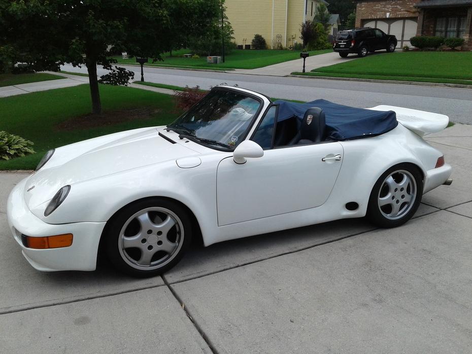 1987 Porsche 911 Carerra Tonneau