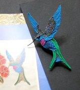 Needlelace hummingbird