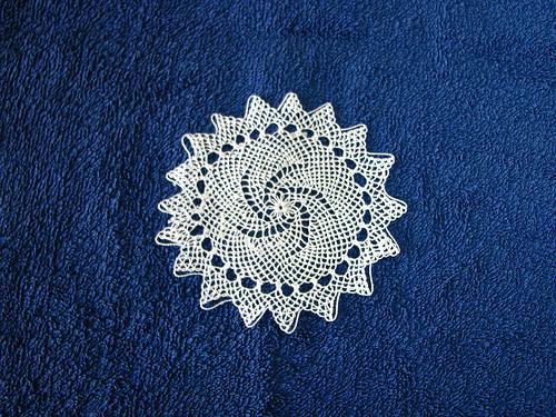 Armenian Needle Lace doily