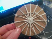 1. First try laying spokes