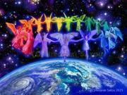 Rainbow Angels for Peace on Earth